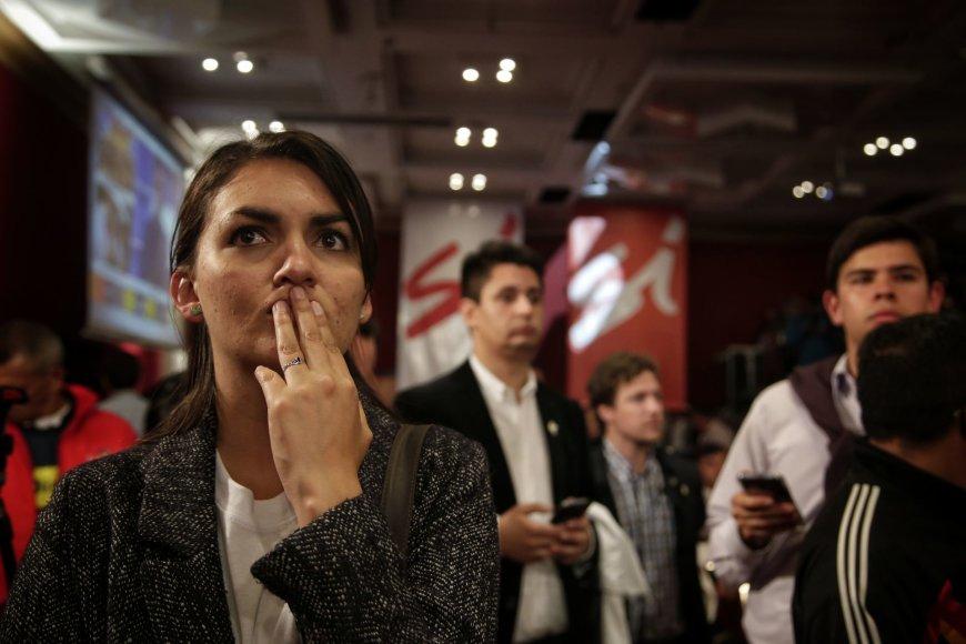 Moteris laukia referendumo rezultatų