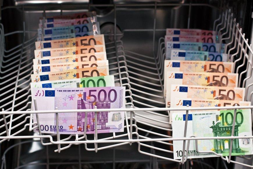 123rf.com nuotr. /Pinigų plovimas
