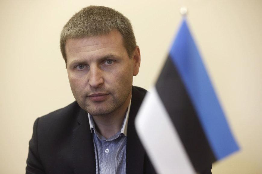 Naujasis Estijos Reformų partijos vadovas  Hanno Pevkuras