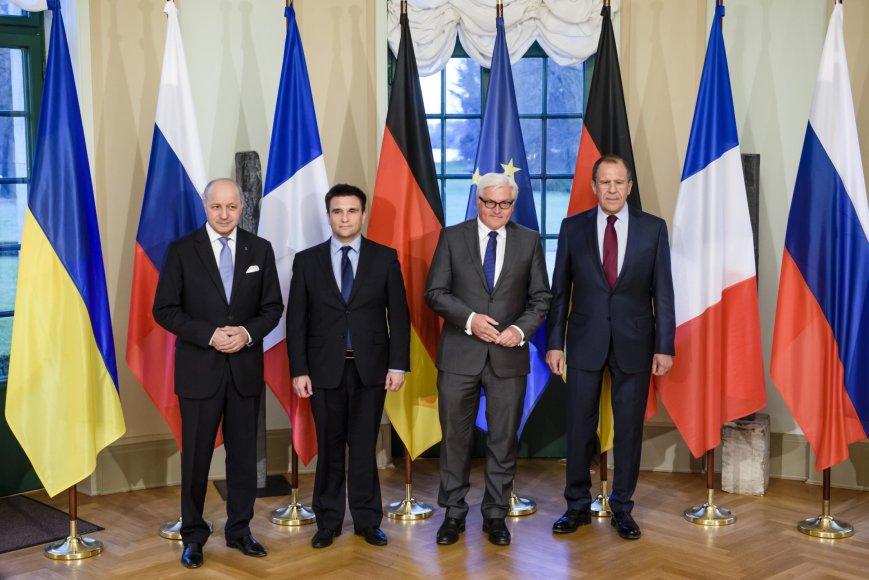 Užsienio reikalų ministrų susitikimas Berlyne.