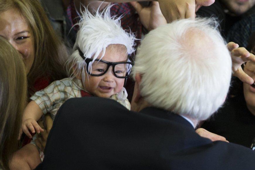 """""""Mažylis Bernis"""" ir Bernie Sandersas"""