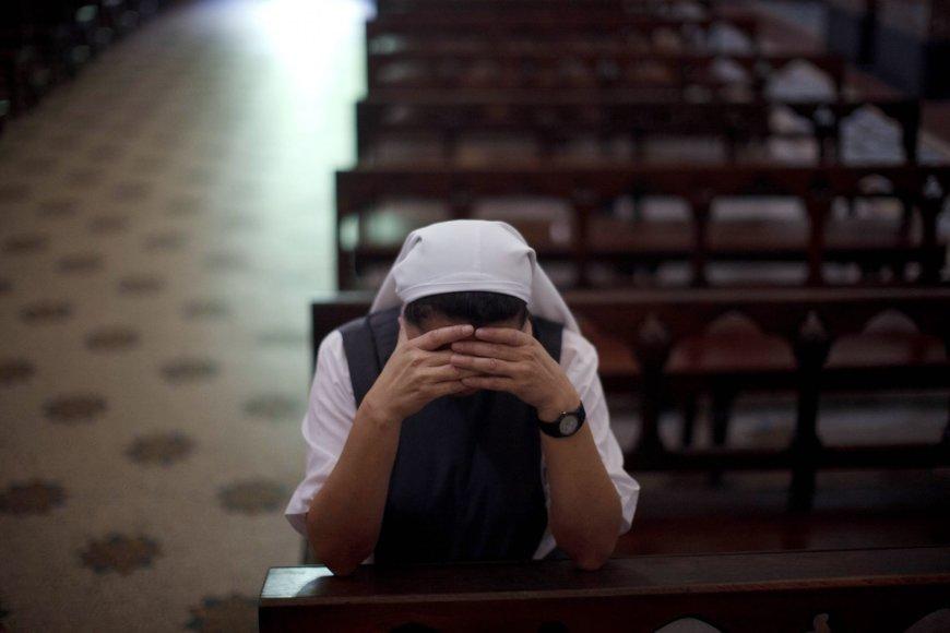 Vienuolė Argentinos bažnyčioje