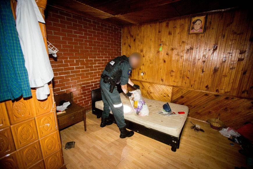 Narkotikų platintojų sulaikymo operacija