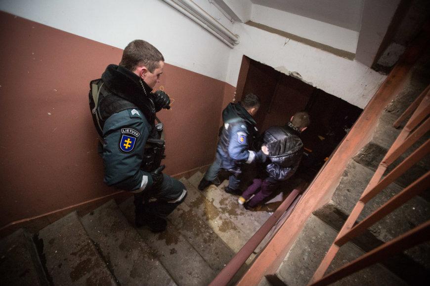 Sostinėje sulaikyta varėniškių gauja prekiavusi narkotikais