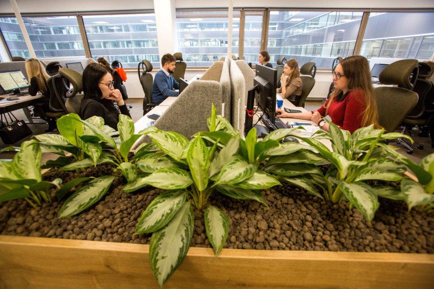 Norvegijos draudimo bendrovės naujosios biurų patalpos