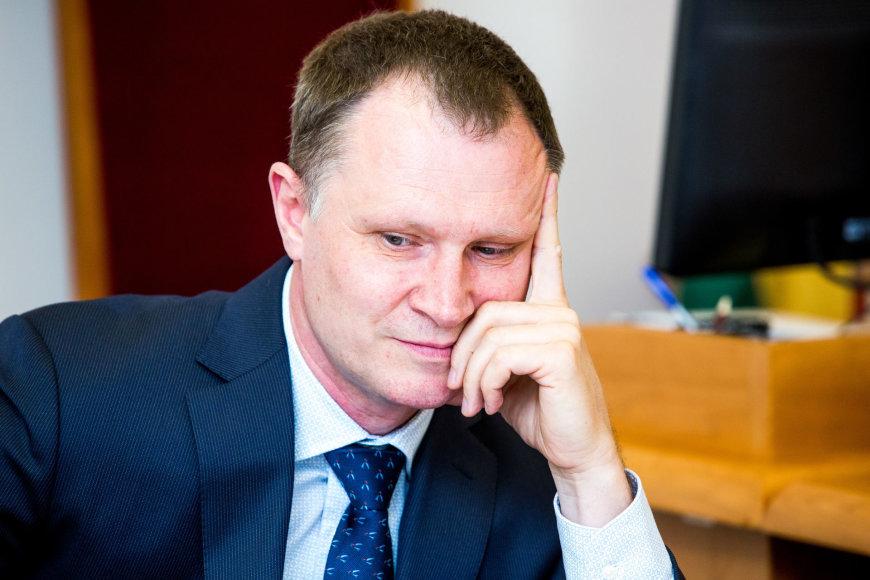 Pulkininkas Audronis Navickas teisme