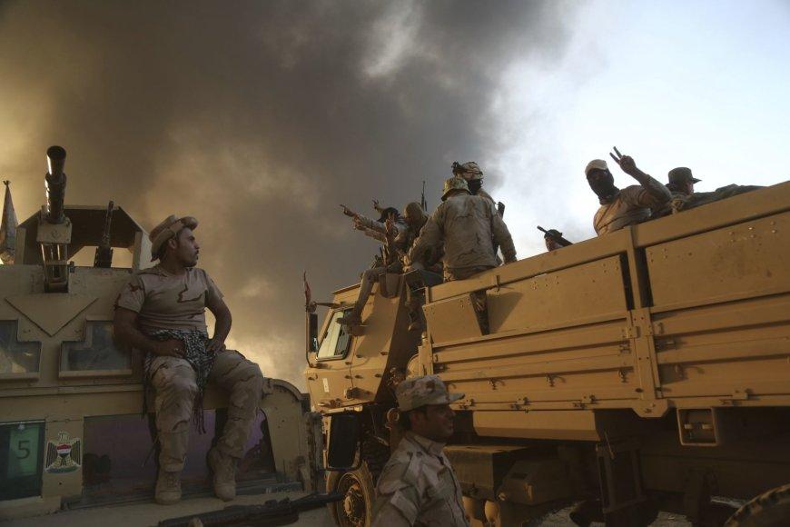 Irako pajėgos artėja prie Mosulo