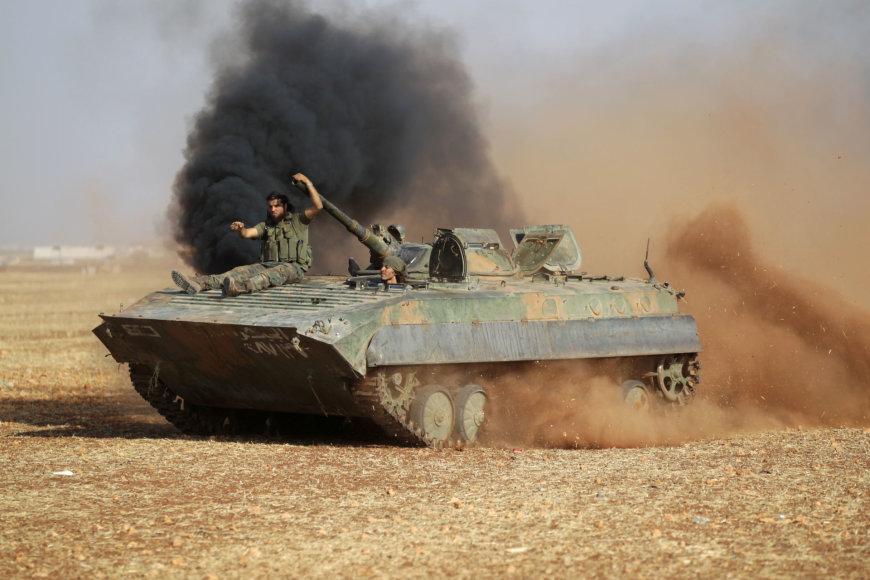 Sukilėliai prie Alepo