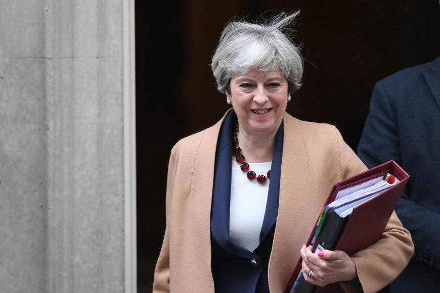 PA Wire/Theresa May
