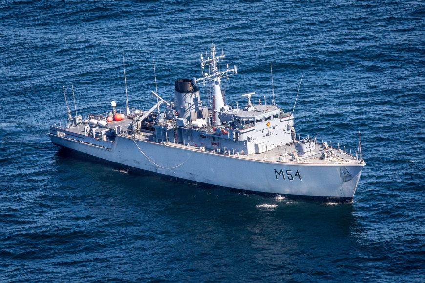 """Priešmininis laivas """"Kuršis"""" (M-54)"""