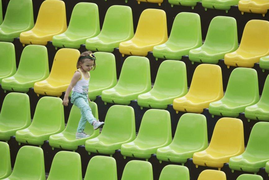 Tuščios kėdės Rio arenose