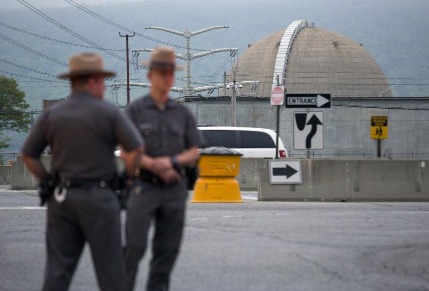 """Indian Point"" atominėje elektrinėje netoli Niujorko kilo gaisras"