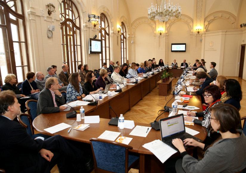 "Konferencija ""Lietuvos kultūros politika ir kultūros sektoriaus ateitis"""
