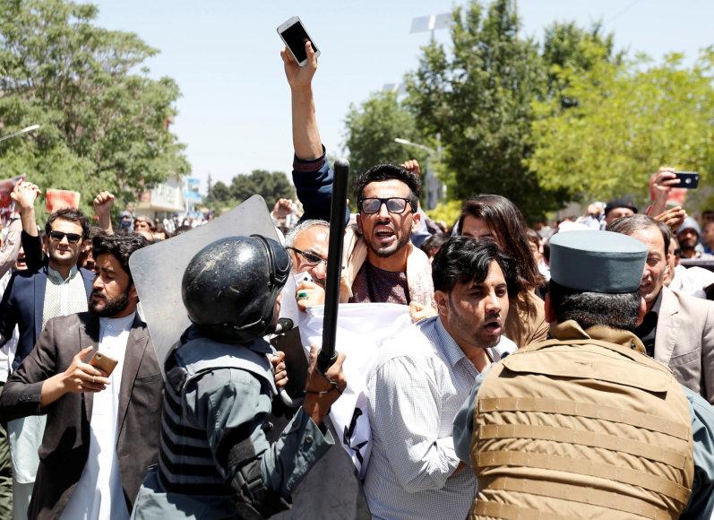 Protestas Afganistane