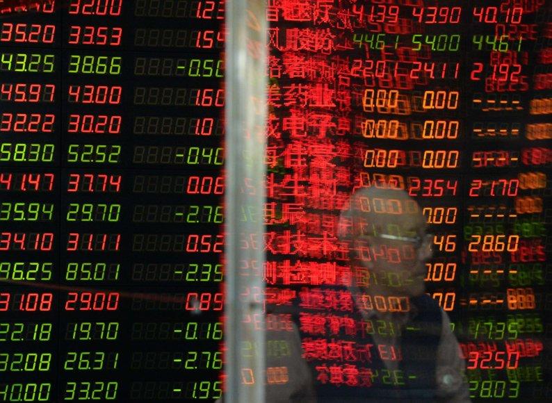 Šanchajaus akcijų birža