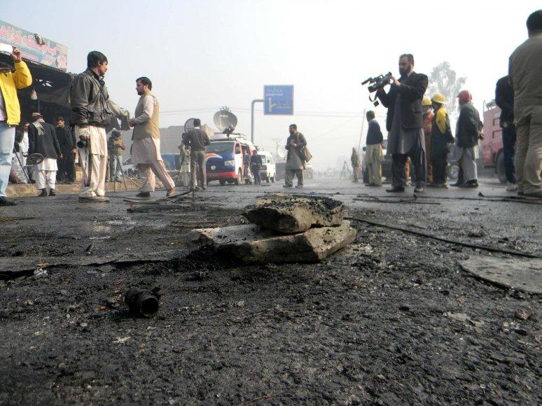 Mirtininko sprogdintojo išpuolis Pakistane