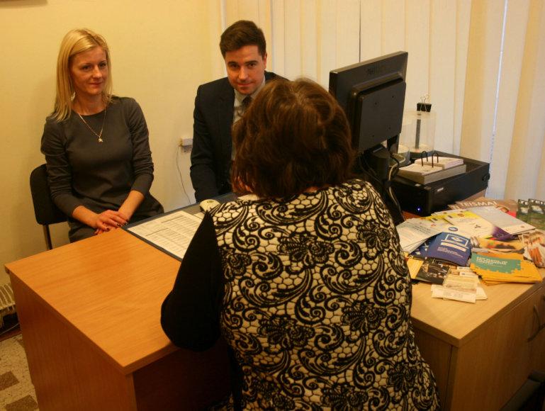 Klaipėdos apygardos teisme nemokamos teisinės konsultacijos suteiktos daugiau nei 80 asmenų.