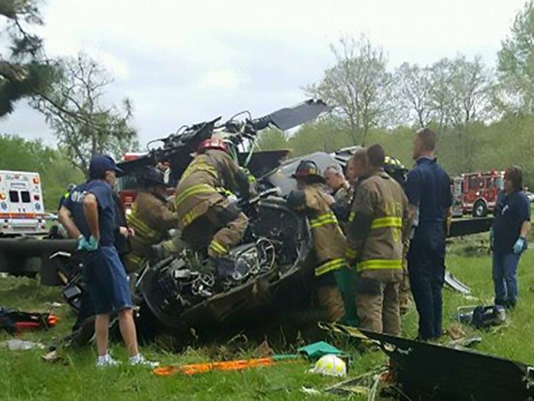 Merilando valstijoje sudužo karinis sraigtasparnis.