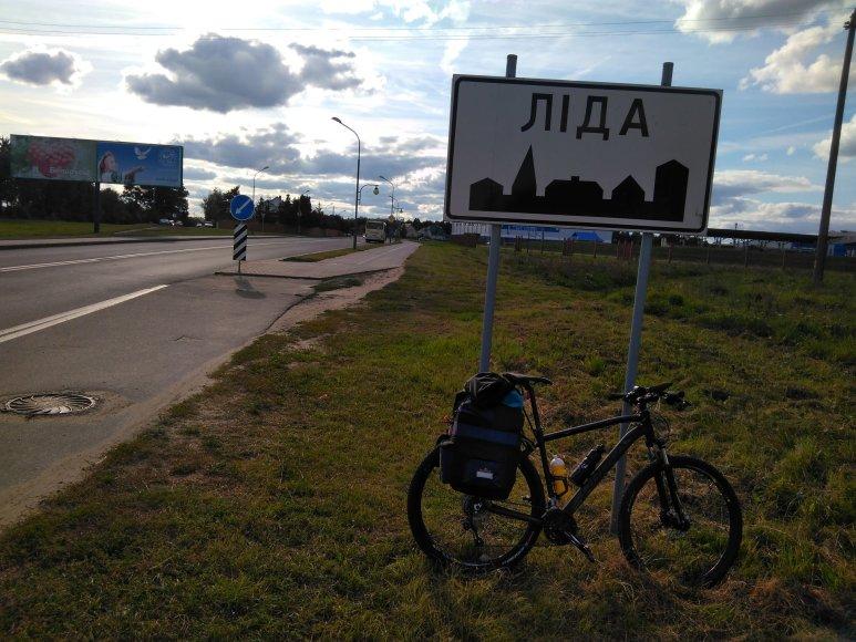 Juozapo Žygo nuotr./Dviračiu po Baltarusiją – 550 km kelionė