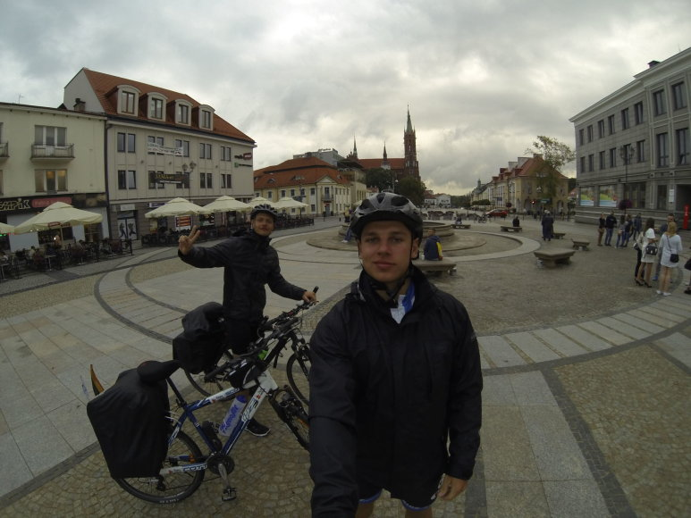 Kelionė dviračiais Lietuva-Slovakija