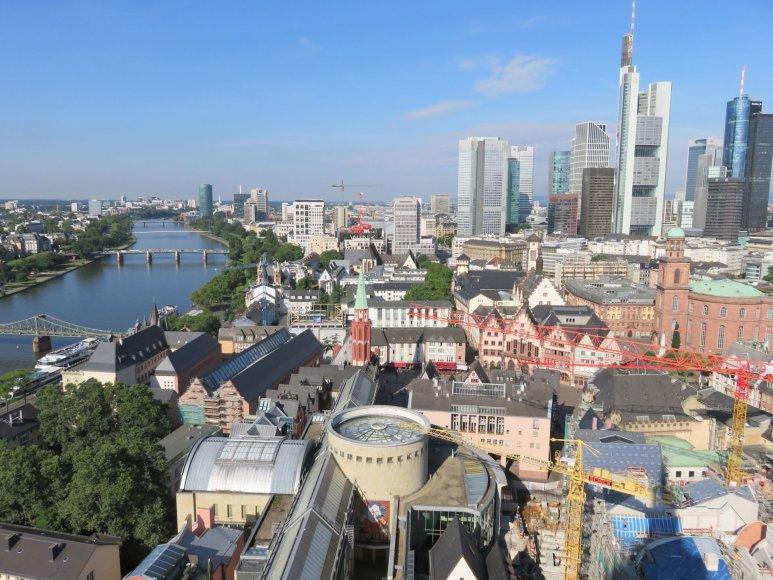 Frankfurto panorama