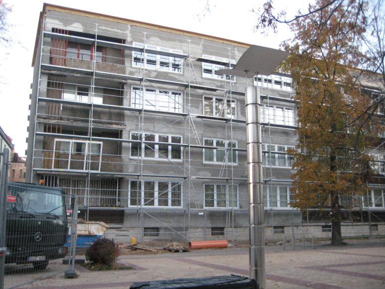 Aurelijos Jašinskienės nuotr./Renovacija