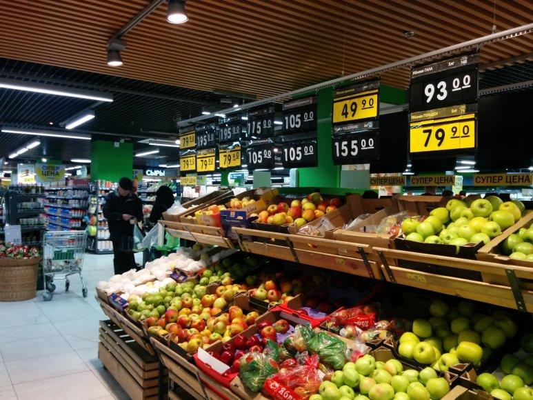 Rusijos parduotuvės po embargo