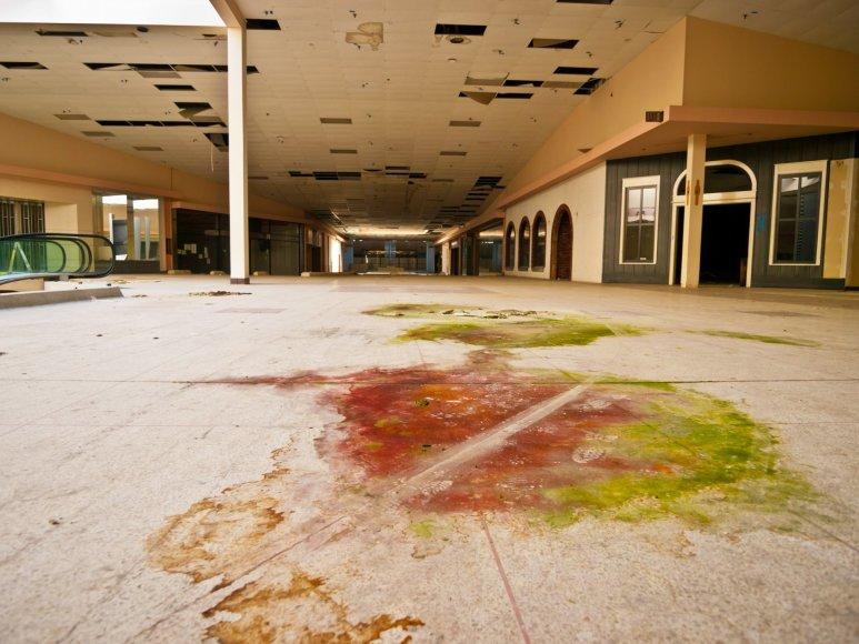Apleistas prekybos centras Ohajo valstijoje JAV
