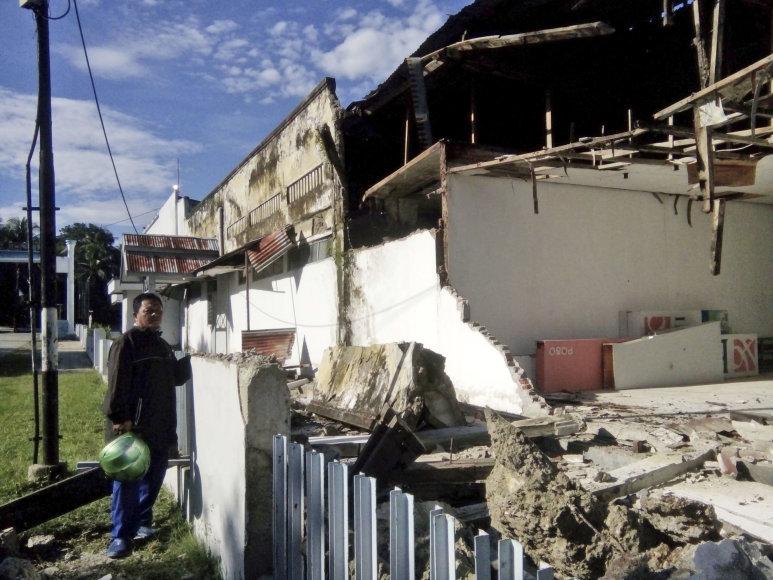 Sulavesis po žemės drebėjimo