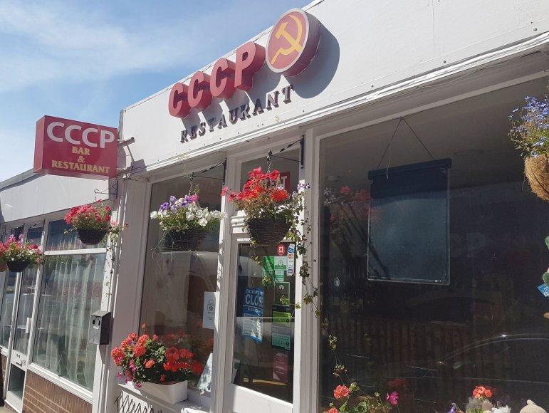 Rytų Anglijoje lietuvių įkurtas restoranas.