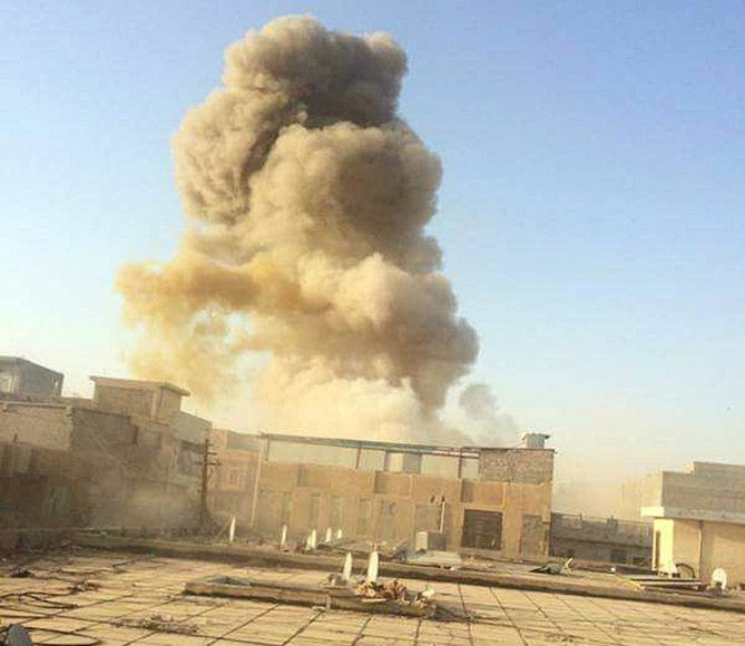 """""""Islamo valstybė"""" skelbiasi perėmusi Irako Ramadžio miesto kontrolę"""