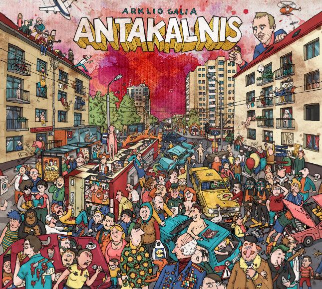 "Grupės ""Arklio galia"" albumo ""Antakalnis"" viršelis"