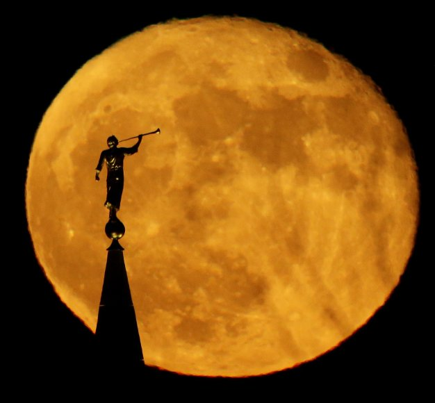 Mėnulio vaizdai iš žemės