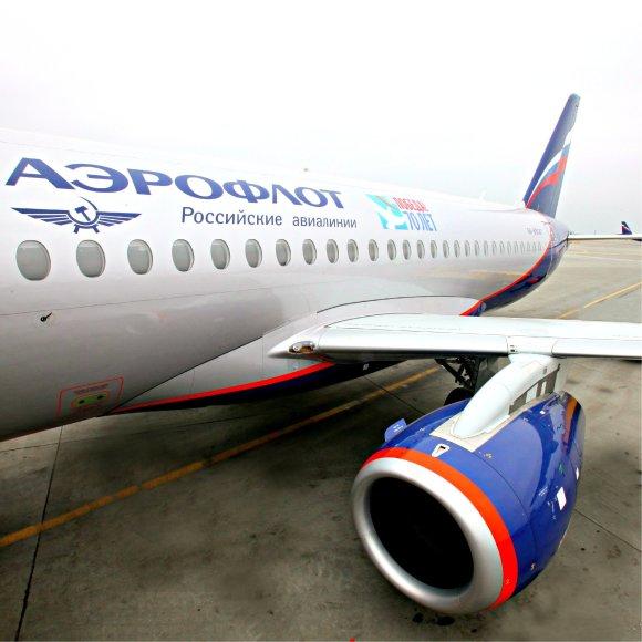 "Oro bendrovės ""Aeroflot"" lėktuvas"