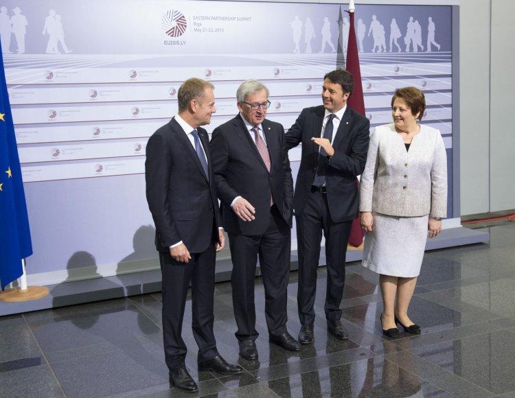 Rygoje paskelbta ES Rytų partnerystės susitikimo deklaracija.