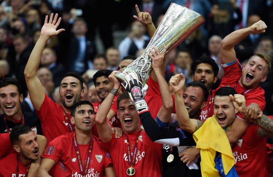 """Sevilla"" – Europos lygos nugalėtoja"