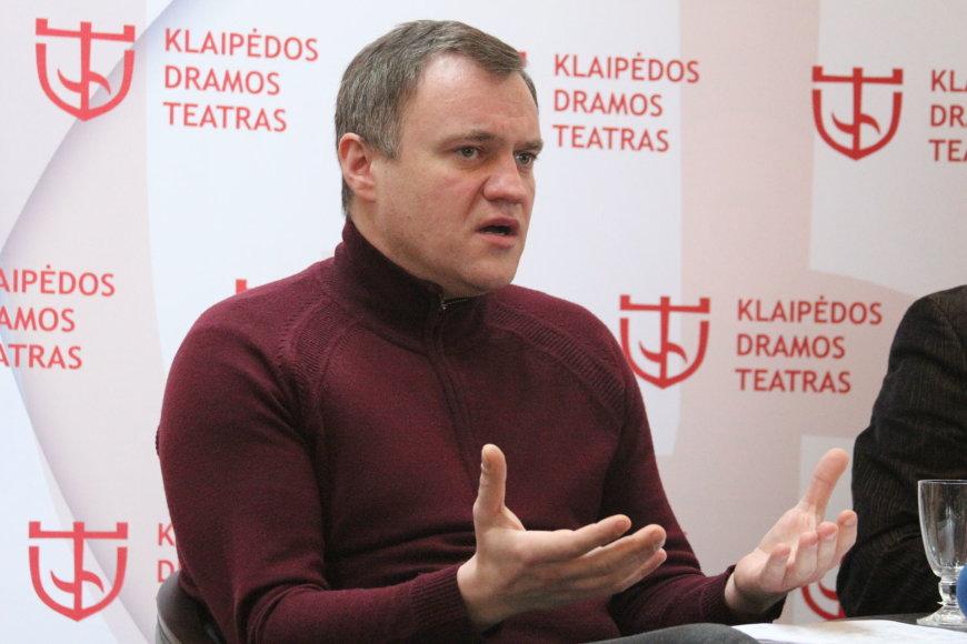 Klaipėdos dramos teatro vadovas Tomas Juočys