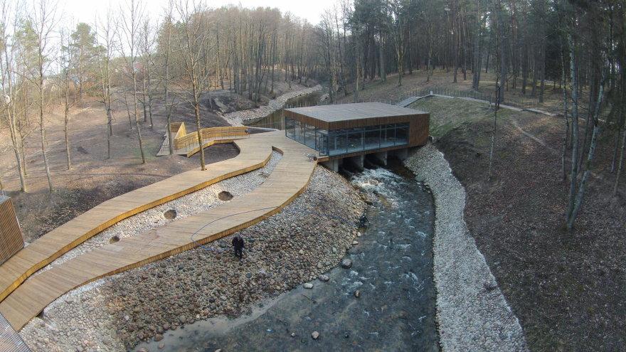 Druskininkų kurorto šventės metu bus atidaromas rekonstruotas Sveikatingumo parkas. Druskininkų sav. nuotr.