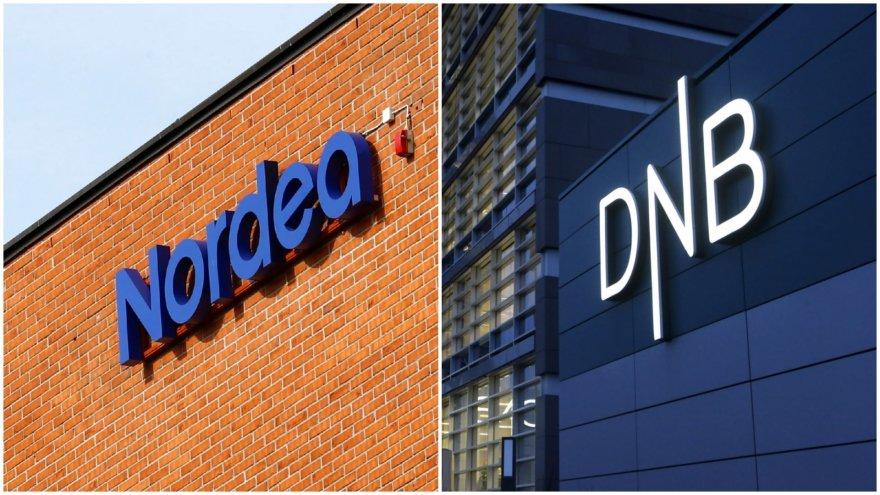 """""""Nordea"""" ir """"DnB"""" bankai"""