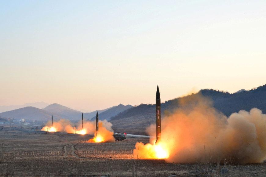 Šiaurės Korėjos raketos