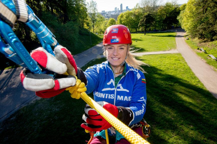 Alpinistė Vilma Tūbutytė