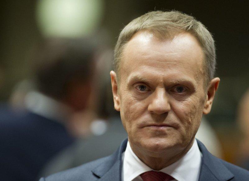 Lenkijos ministras pirmininkas Donaldas Tuskas