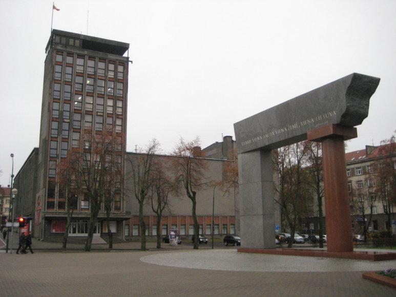 Klaipėdos valstybinio muzikinio teatro pastatą norima rekonstruoti ir išplėsti.