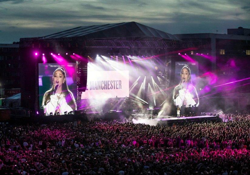 """""""Reuters""""/""""Scanpix"""" nuotr./Koncertas """"One Love Manchester"""""""