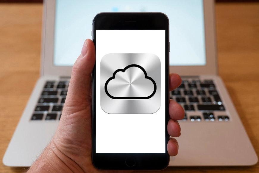 """""""Apple iCloud"""" debesinė duomenų saugykla"""