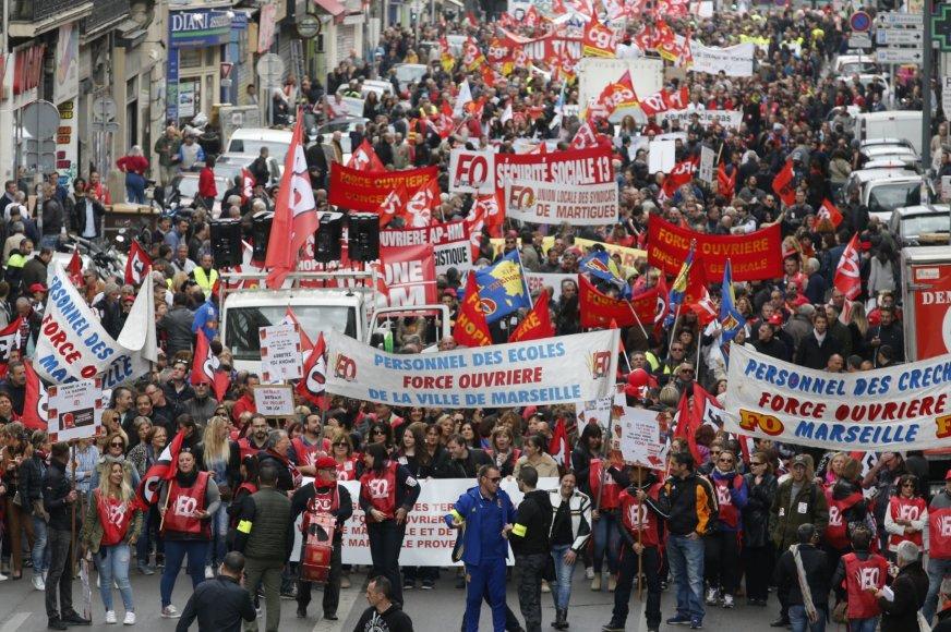 Demonstracija Prancūzijoje
