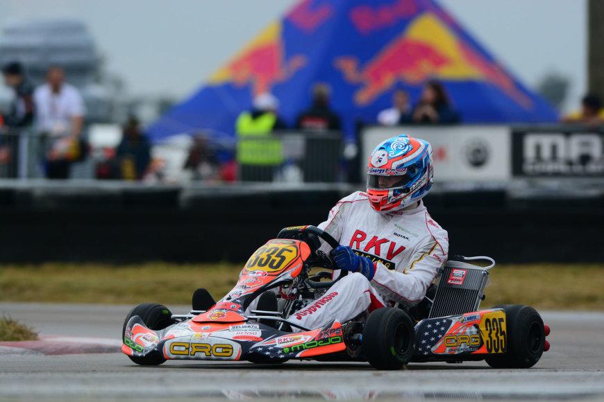 Simas Juodviršis Pasaulio kartingo čempionate