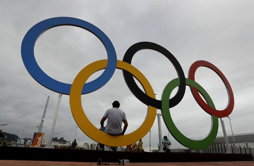 Olimpiniai žiedai Rio de Žaneire