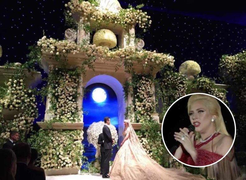 Gasparo ir Lolos vestuvių akimirka