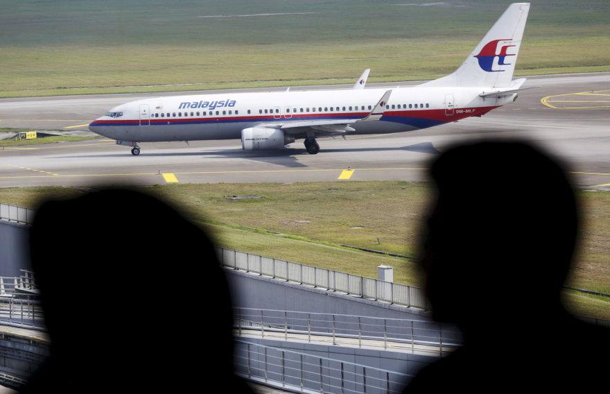 """""""Malaysia Airlines"""" lėktuvas"""